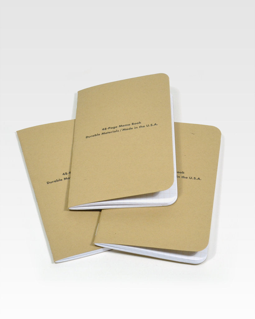 Field Notes Pack of 3 - Dry Transfer Edition