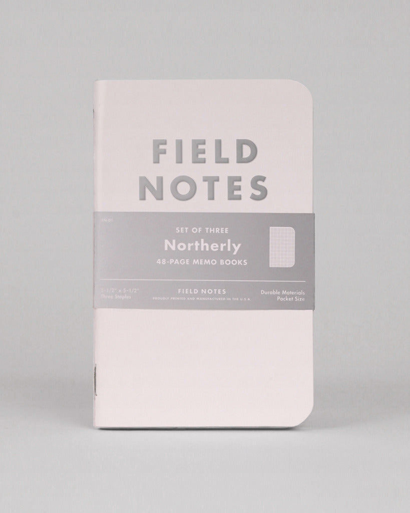 Field Notes Pack of 3 - Northerly Edition