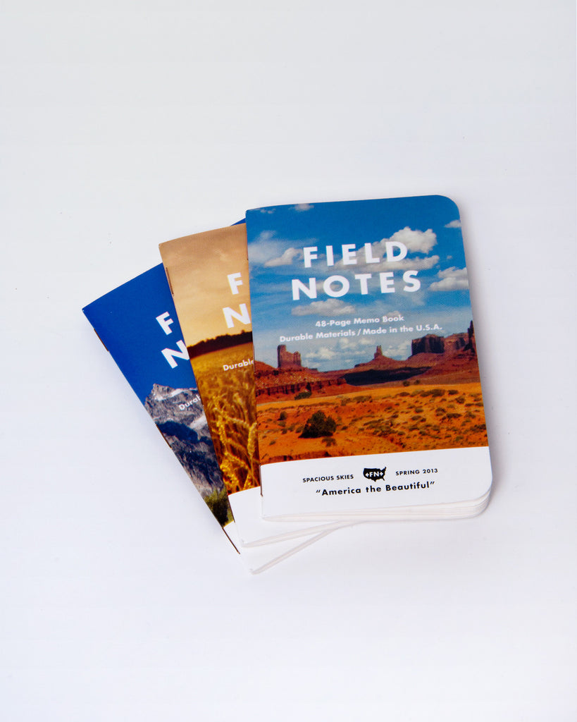 Field Notes Pack of 3 - America the Beautiful Edition