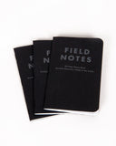 Field Notes Pack of 3 - Night Sky Edition