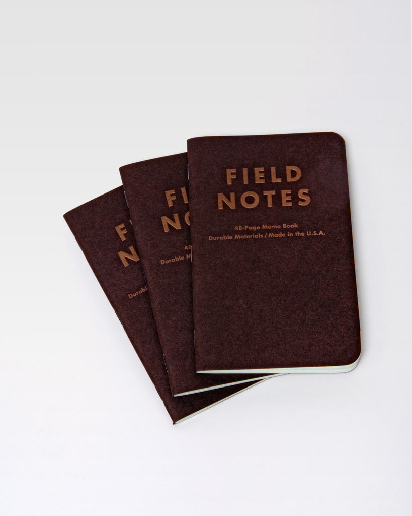 Field Notes Pack of 3 - Traveling Salesman Edition