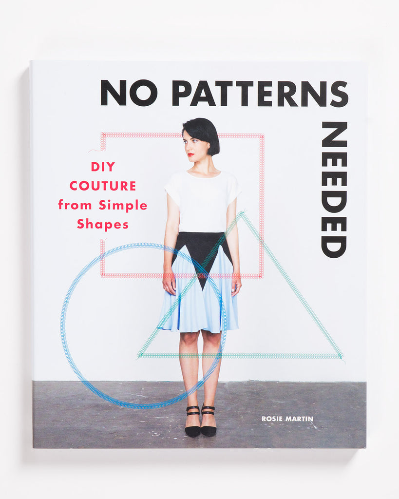 No Patterns Needed DIY Couture from Simple Shapes