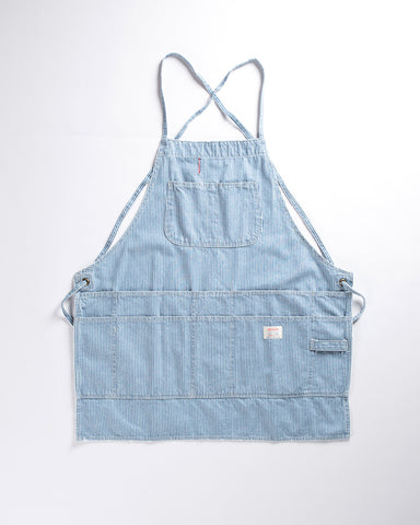 Pointer Brand 3 Pocket Shop Apron Hickory Stripe