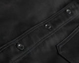Le Laboureur Moleskin Work Jacket Noir