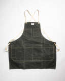 Artifact Bag Co. Artisan Apron Slate Waxed Canvas