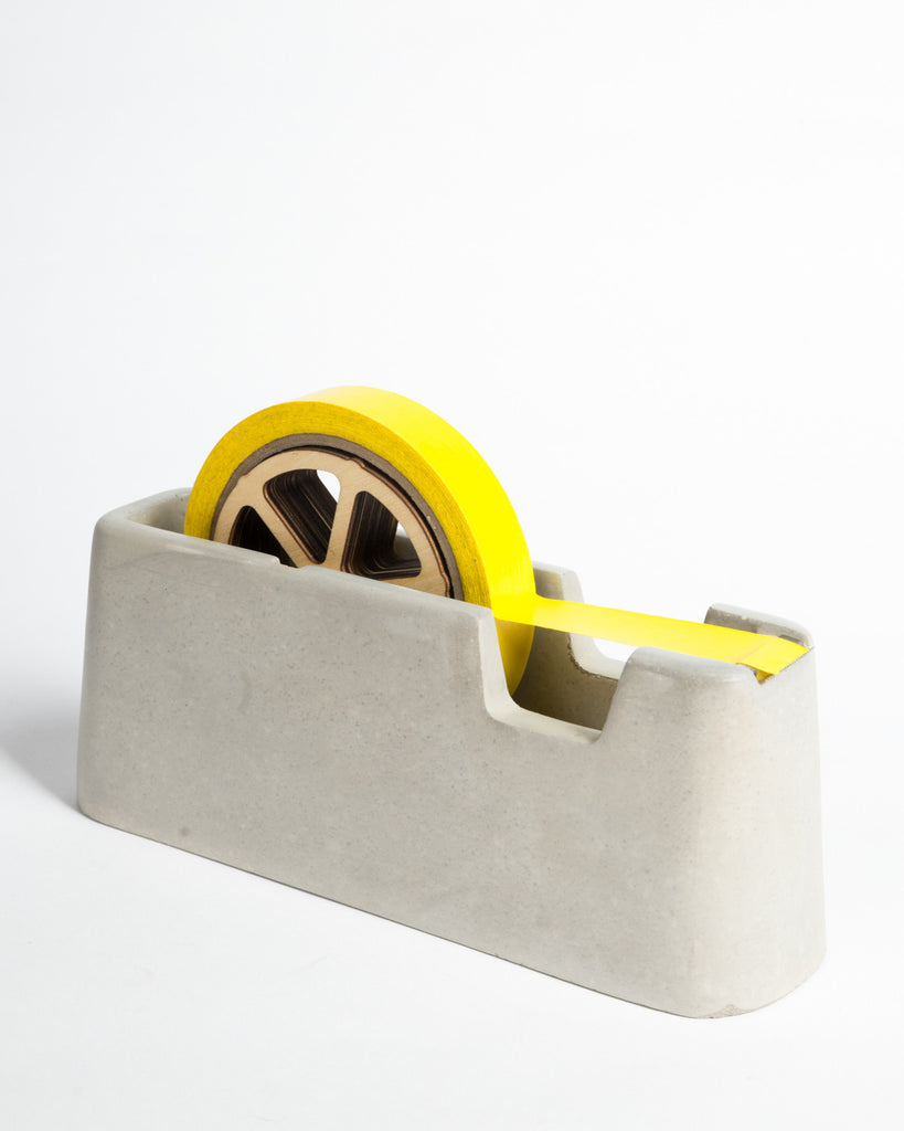 Areaware Concrete Tape Dispenser Large Format