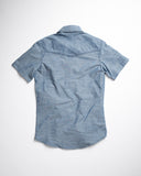 Kooth Brand Short Sleeve Workshirt Blue