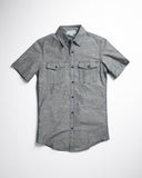 Kooth Brand Short Sleeve Workshirt Gray