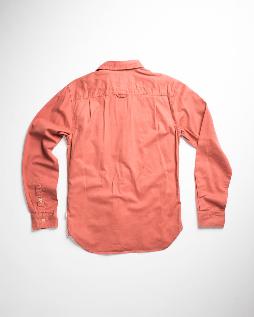 Edgevale Tamalpais Twill Shirt Clay