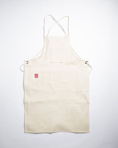 Hand-Eye USA Made Waist Apron Hickory Stripe