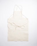 Hand-Eye USA Made Summer Work Apron Natural Herringbone