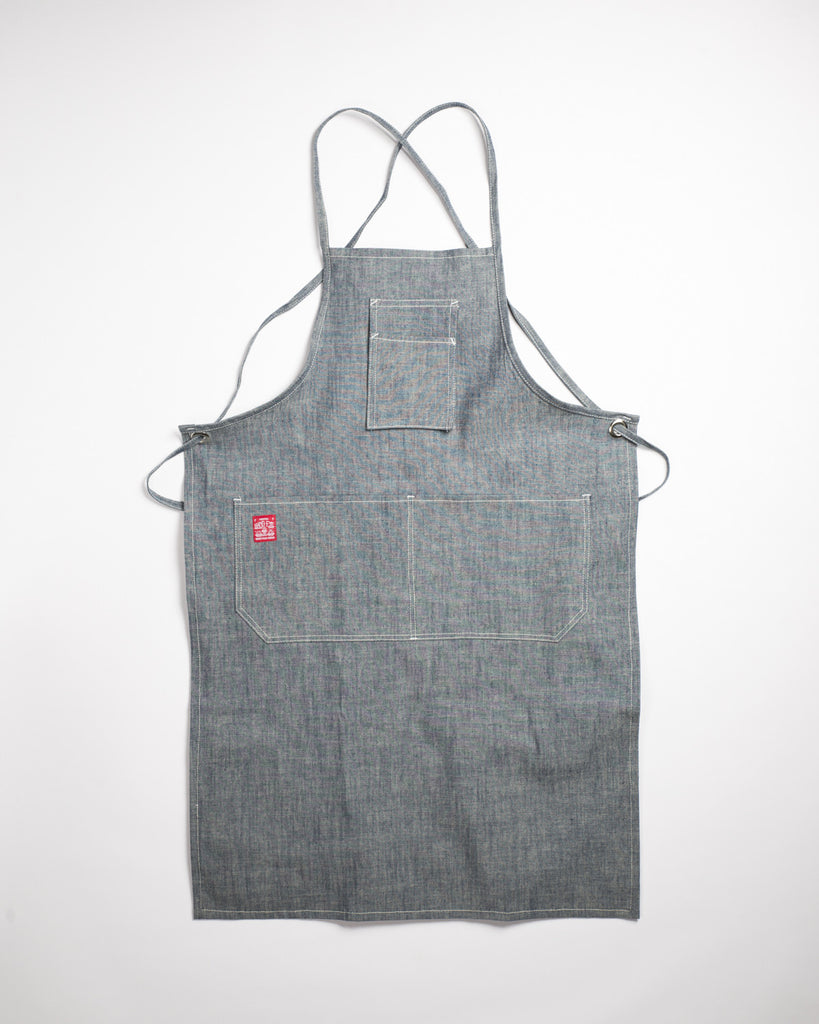 Hand-Eye USA Made Summer Work Apron Sea Canvas