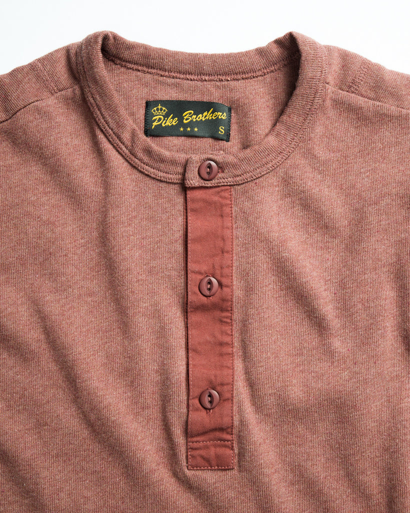 Pike Brothers 1954 Short Sleeve Utility Shirt Rusty Red