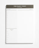 Times Desk Notepad Daily