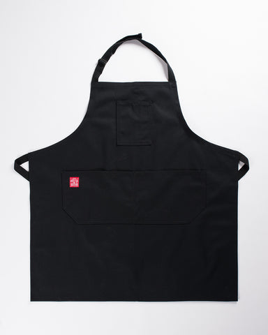 Hand Eye Kitchen Apron Black Canvas
