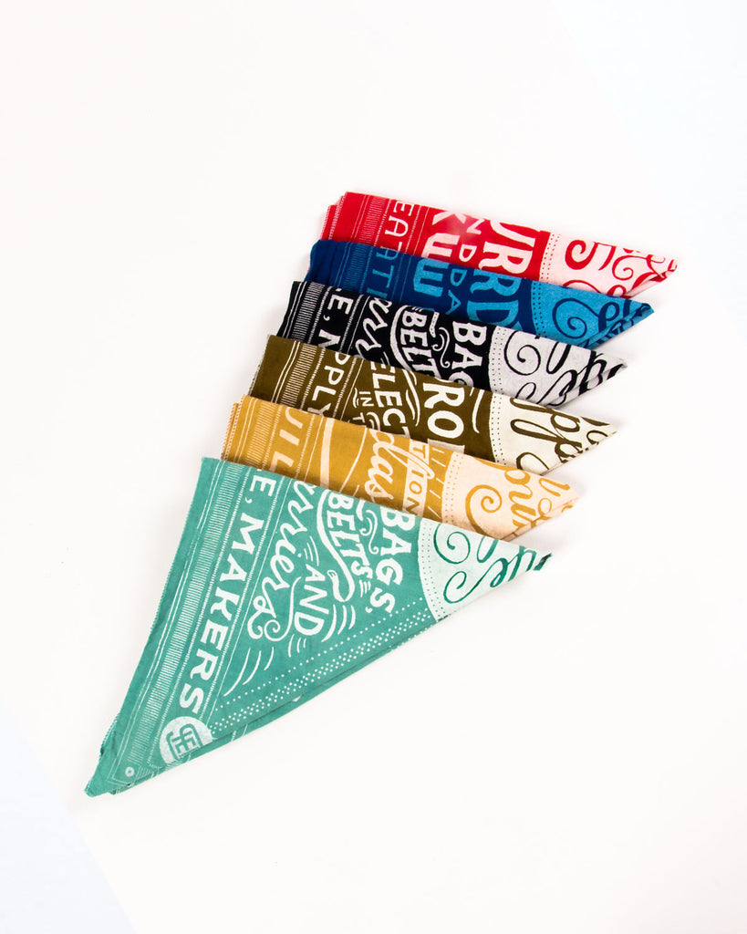 Hand-Eye Supply x Man vs. Ink x Mary Kate McDevitt Bandana