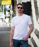 Organic Cotton Pocket Tee White