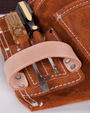 Hand-Eye Pocket Nail and Tool Belt Suede