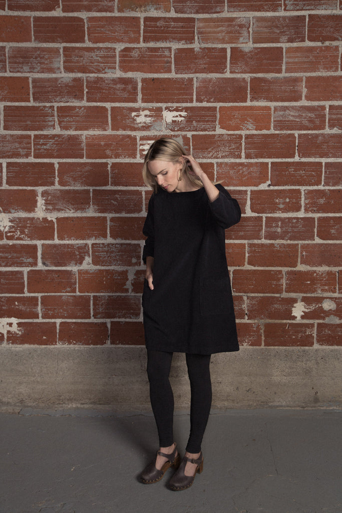 Armen Boatneck Pullover Tunic