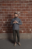 Five Brother Heavy Chambray Work Shirt Blue