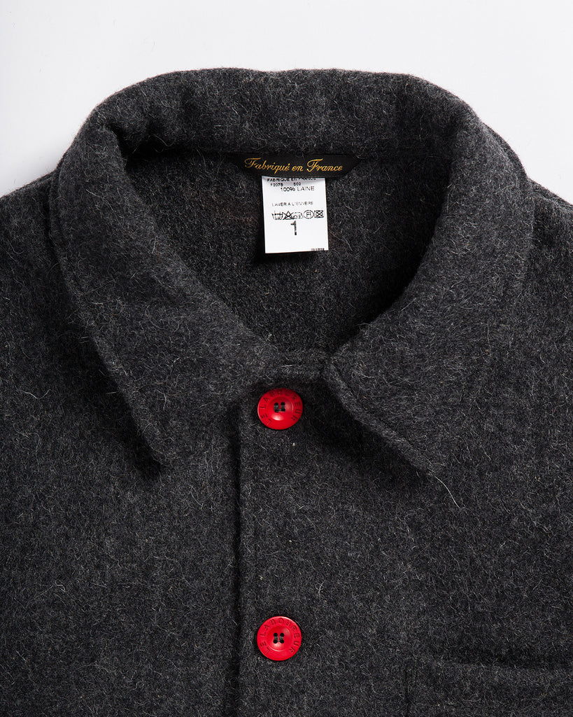 Le Laboureur Wool Work Jacket Grey