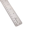 Gaebel Stainless Steel Cork-backed Ruler 18