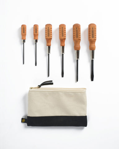 Klein Tools Zipper Consumables Bag Natural