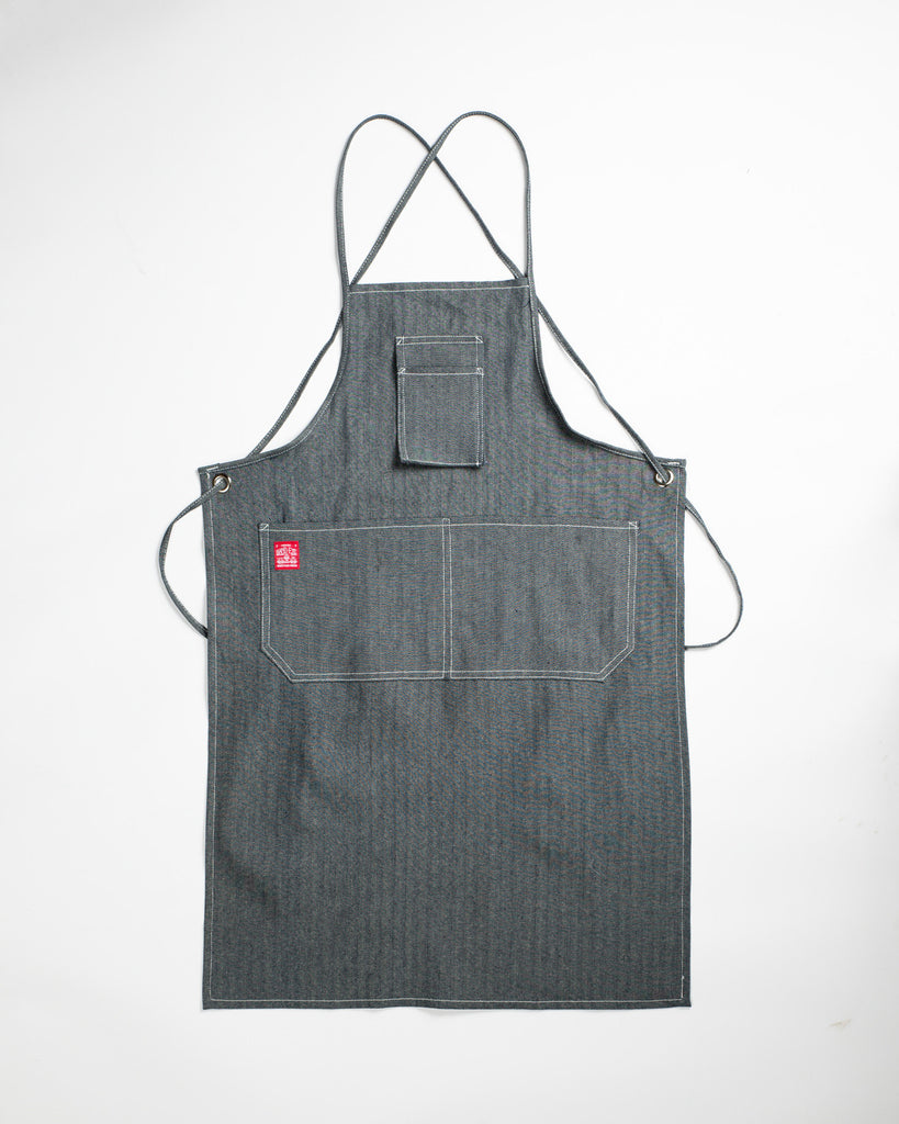 Spectacular Apron Combo - Hand-Eye Herringbone Apron + Clear Spectacle