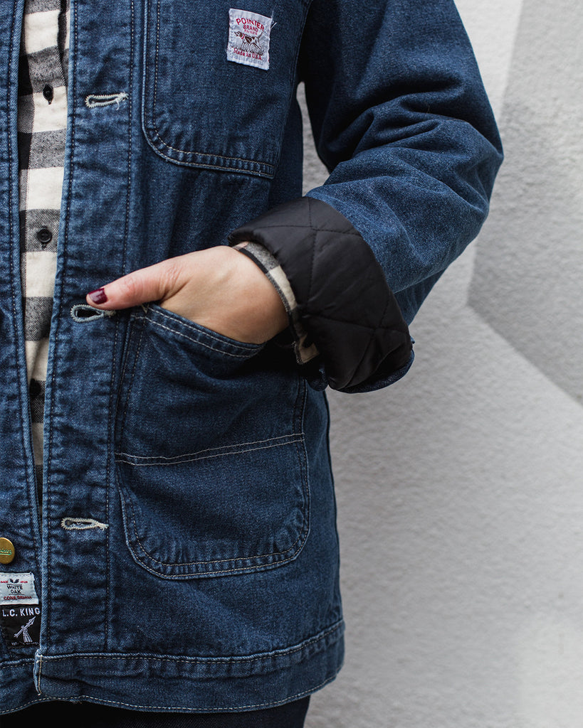 Pointer Barn Coat Denim