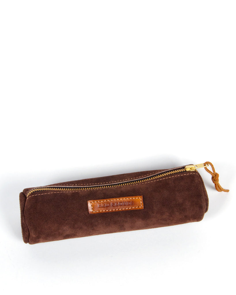Red Clouds Collective Round Pencil Case