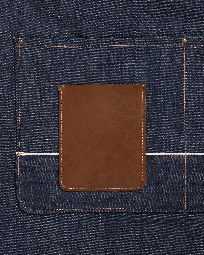 Red Clouds Collective Winston Apron Selvedge Denim