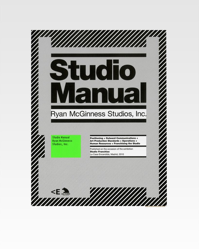 Studio Manual - Ryan McGinness