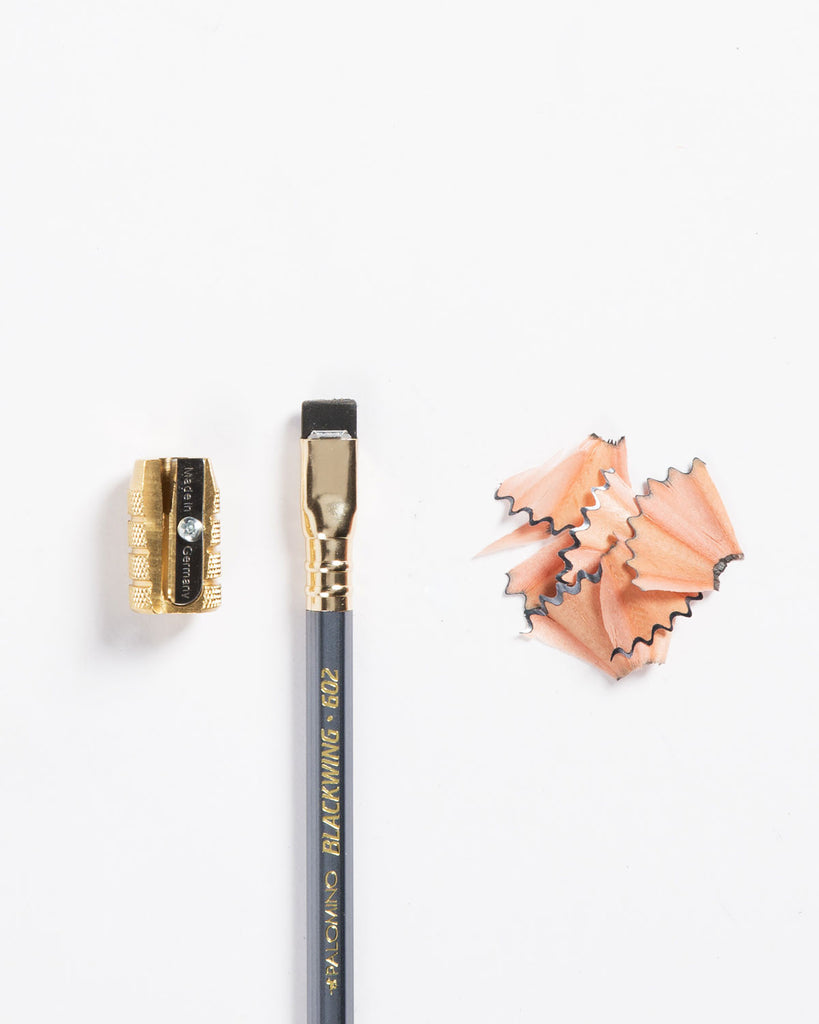Brass Bullet Sharpener Pencil