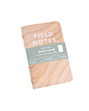 Field Notes Pack of 3 - Shelterwood Edition