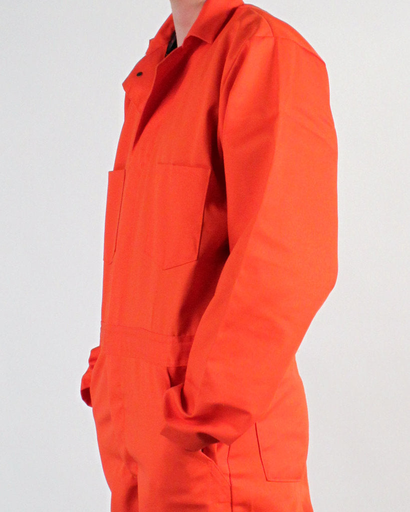 Universal Cotton Coveralls Orange