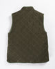 Utility Canvas Snap Vest Olive