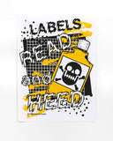 Labels: Read and Heed Safety Poster by Craig Wheat