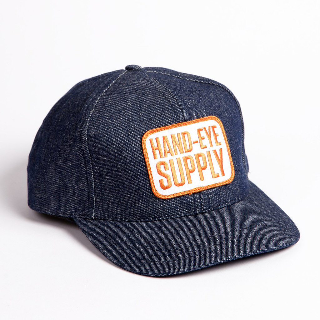 Hand-Eye USA Made Cap Denim – Deadstock, Limited Quantity