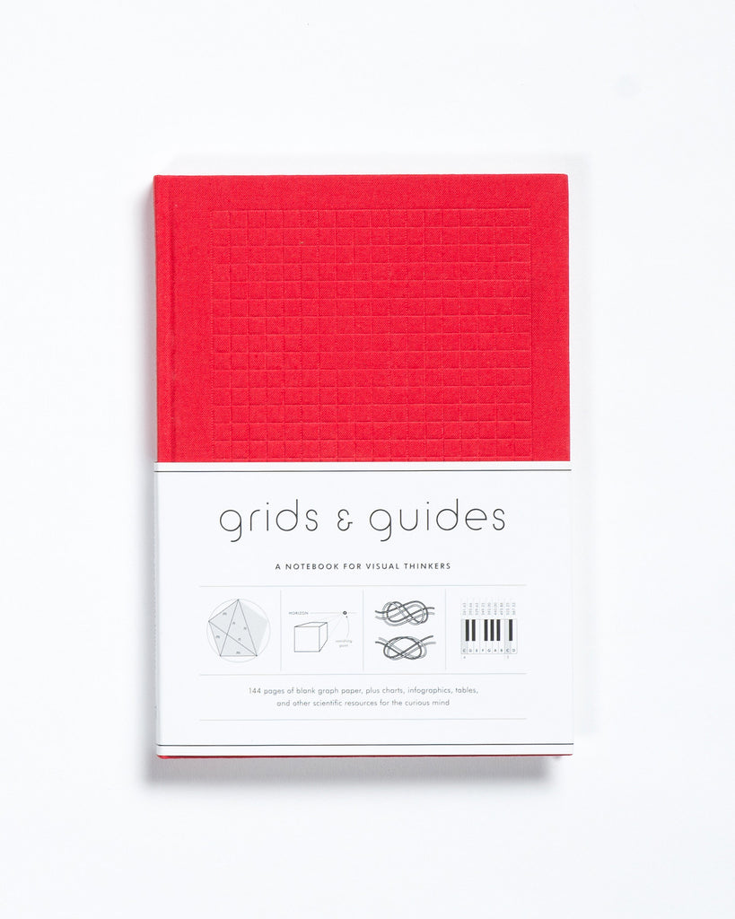Grids & Guides: A Notebook for Visual Thinkers Red