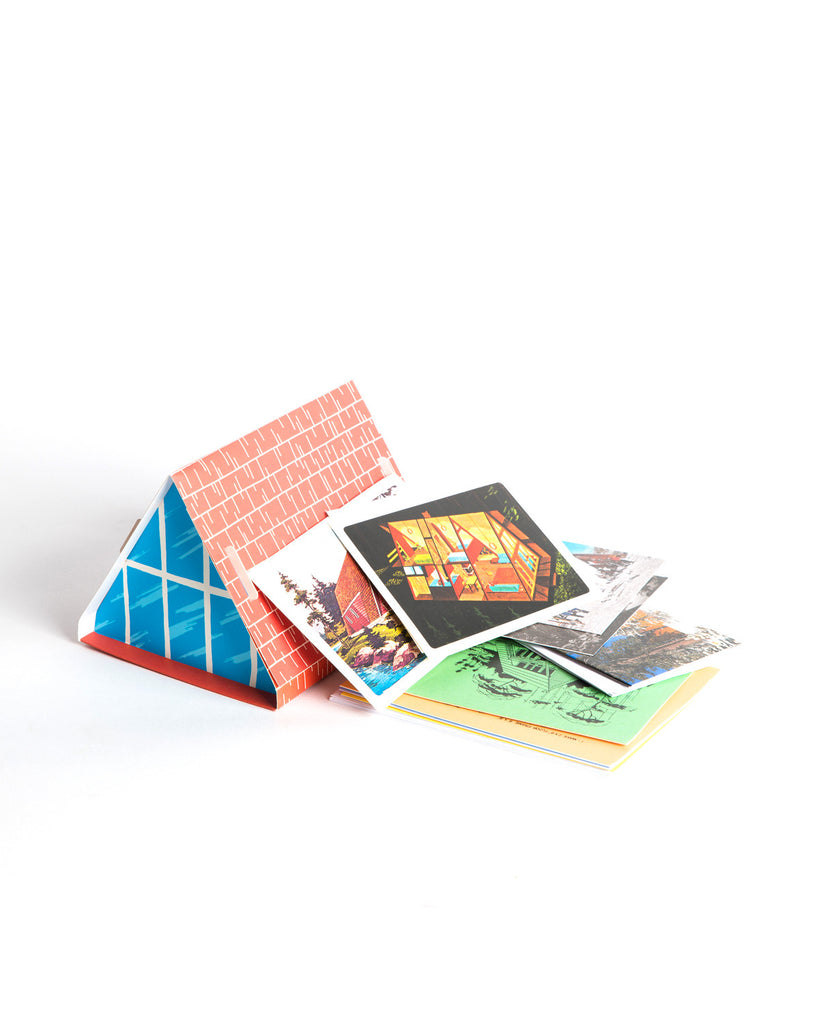 A-frame Notecards