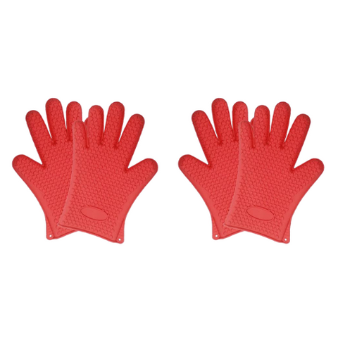 (2 Pack) Heat-Resistant Gloves