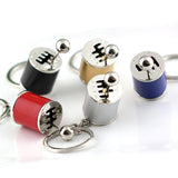 (3PK) Fidget Gear Shift Keychain