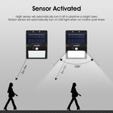 (2 PK) Solar Power Motion Sensor Lights