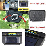 (3PK) AutoCool Solar Powered Fan