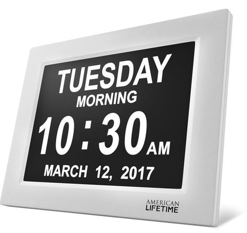 3pk American lifetime day clock