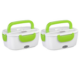 2 Pack - Heated Lunch Box
