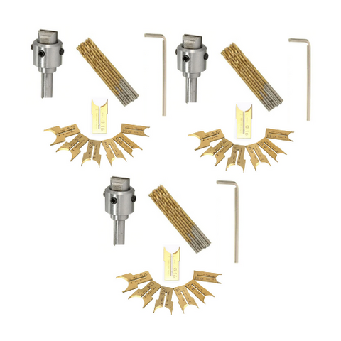 (3 Pack) Beads Drill Bit Set