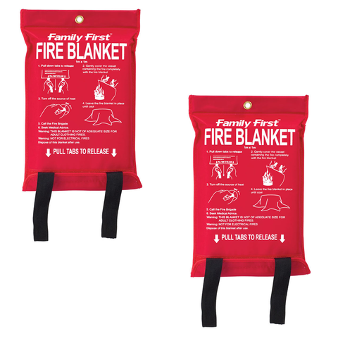 (2PK) Fire Emergency Blanket