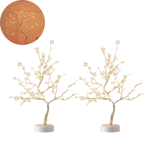 (2 Pack) Fairy Light Tree