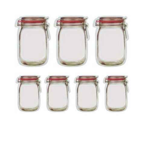 (1PK) Reusable Jar Bags